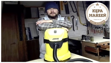 KARCHER WD3 - UNBOXING